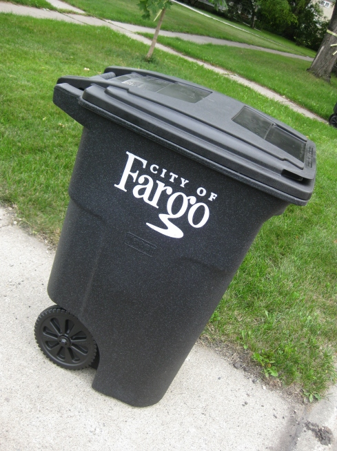 new trash can!